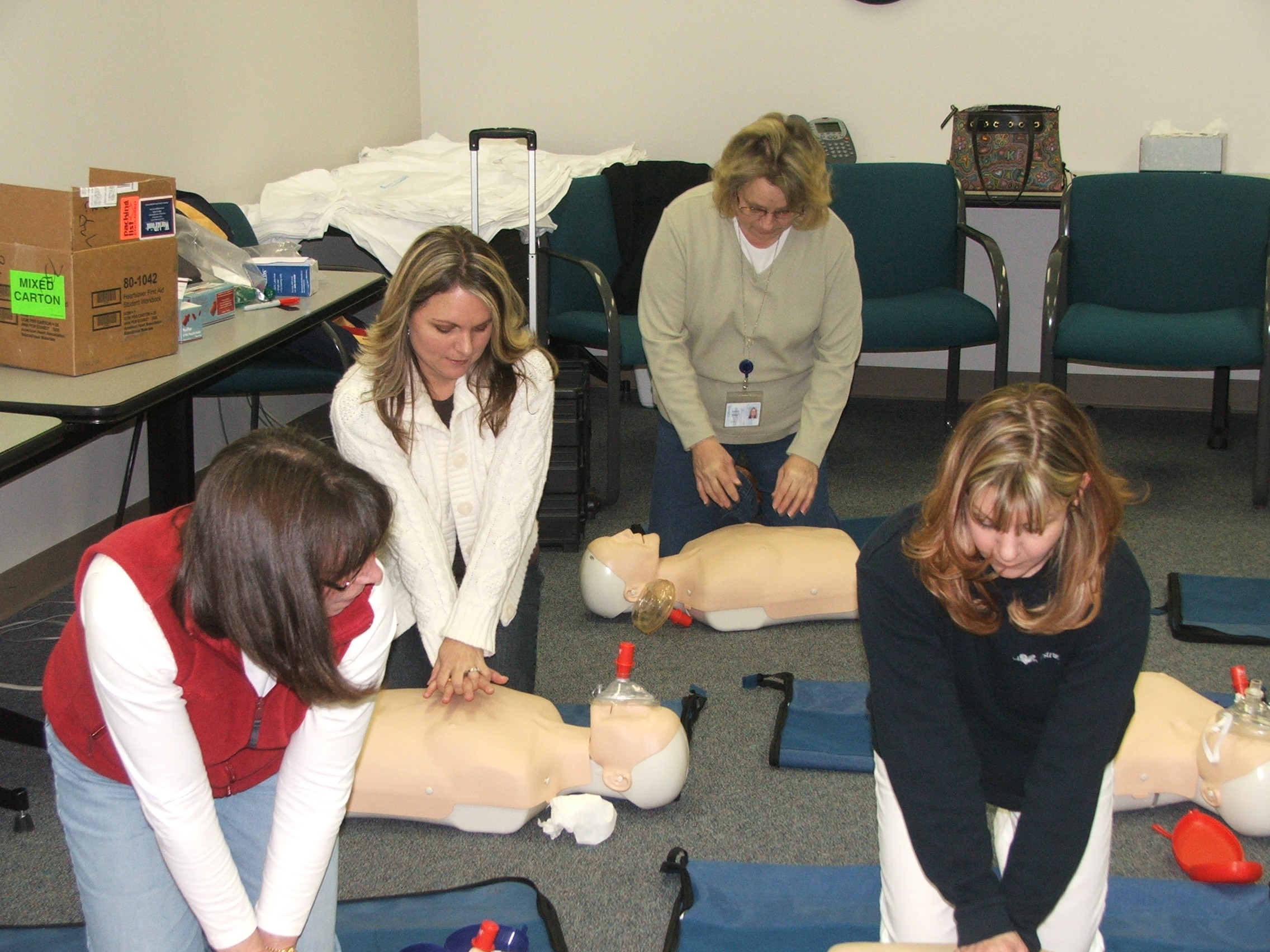 Corporate CPR Training