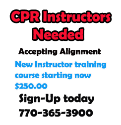 CPR Instructor Training